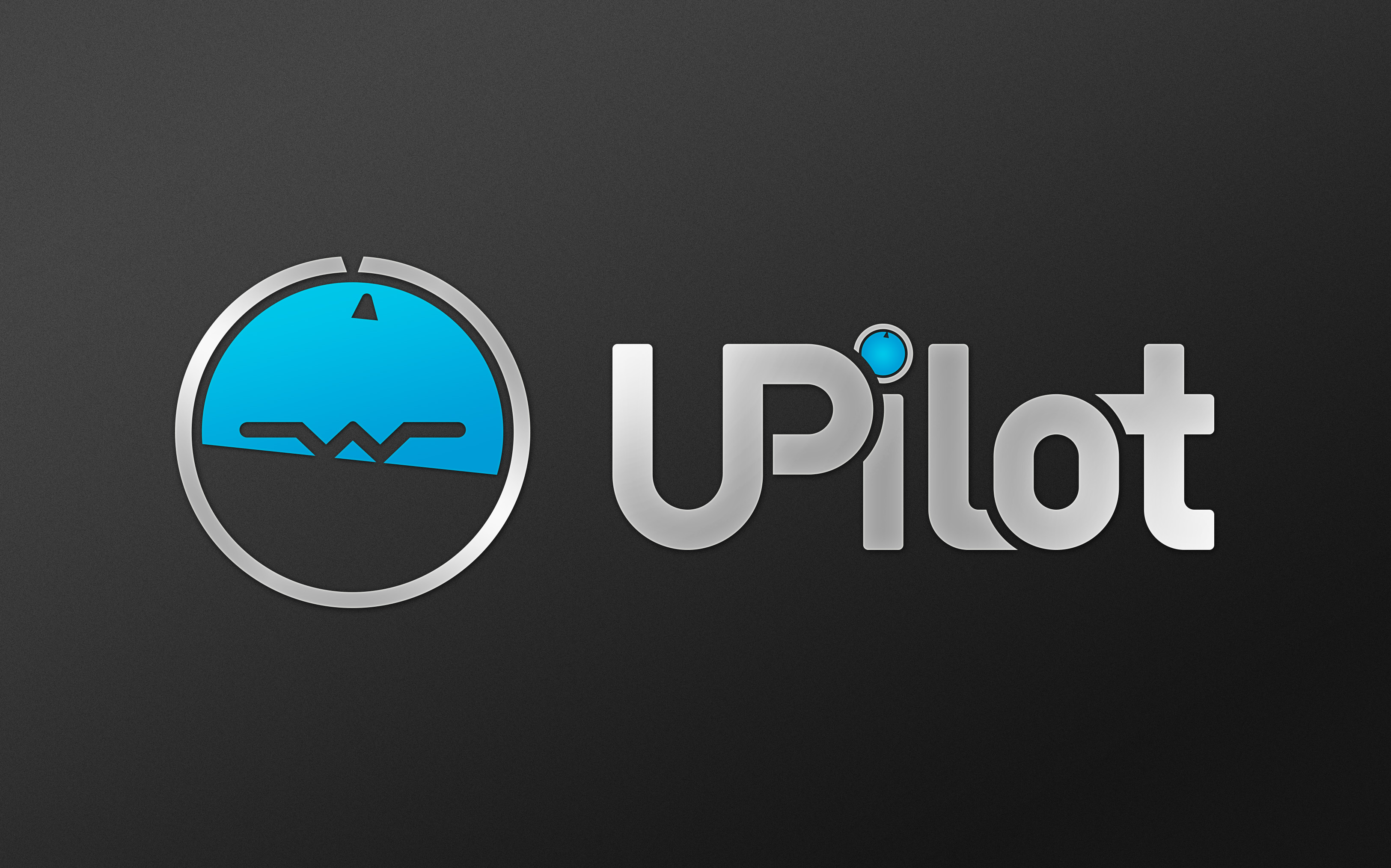 UPilot logo - HD Dark
